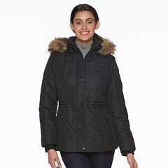 Women's d.e.t.a.i.l.s Full-Zip Hooded Puffer Jacket