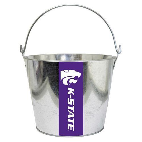 Kansas State Wildcats Metal Bucket