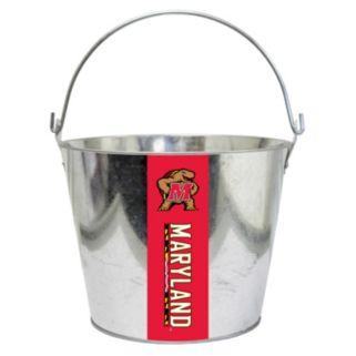 Maryland Terrapins Metal Bucket