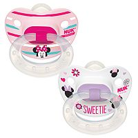Disney's Minnie Mouse 6-18 Months 2-pk. Orthodontic Pacifiers by NUK