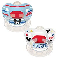 Disney's Mickey Mouse 6-18 Months 2-pk. Orthodontic Pacifiers by NUK