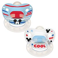 Disney's Mickey Mouse 0-6 Months 2-pk. Orthodontic Pacifiers by NUK