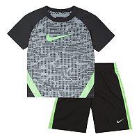 Boys 4-7 Nike Dri-FIT Tee & Athletic Shorts Set
