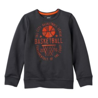 Boys 4-7x SONOMA Goods for Life™ French Terry Graphic Crewneck Pullover