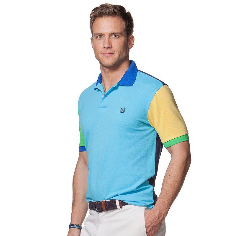 Men's Chaps Classic-Fit Colorblock Polo