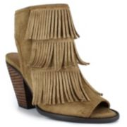 Dolce by Mojo Moxy Tara Women's Fringe High Heels