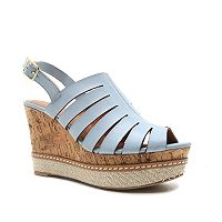 Qupid Ardor Women's Wedge Sandals