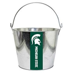 Michigan State Spartans Metal Bucket
