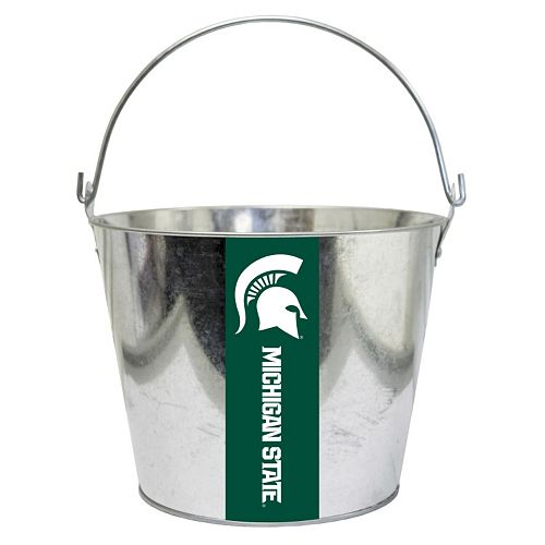 Michigan State Spartans Metal Bucket