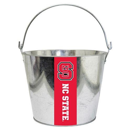 North Carolina State Wolfpack Metal Bucket