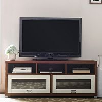 Baxton Studio Swindon Two-Tone TV Stand