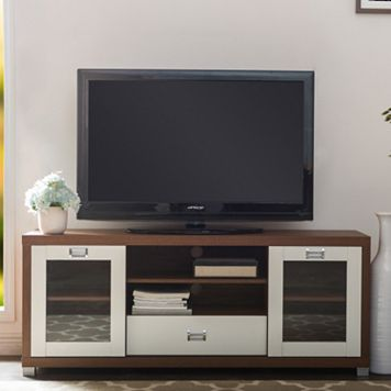 Baxton Studio Matlock Two-Tone TV Stand