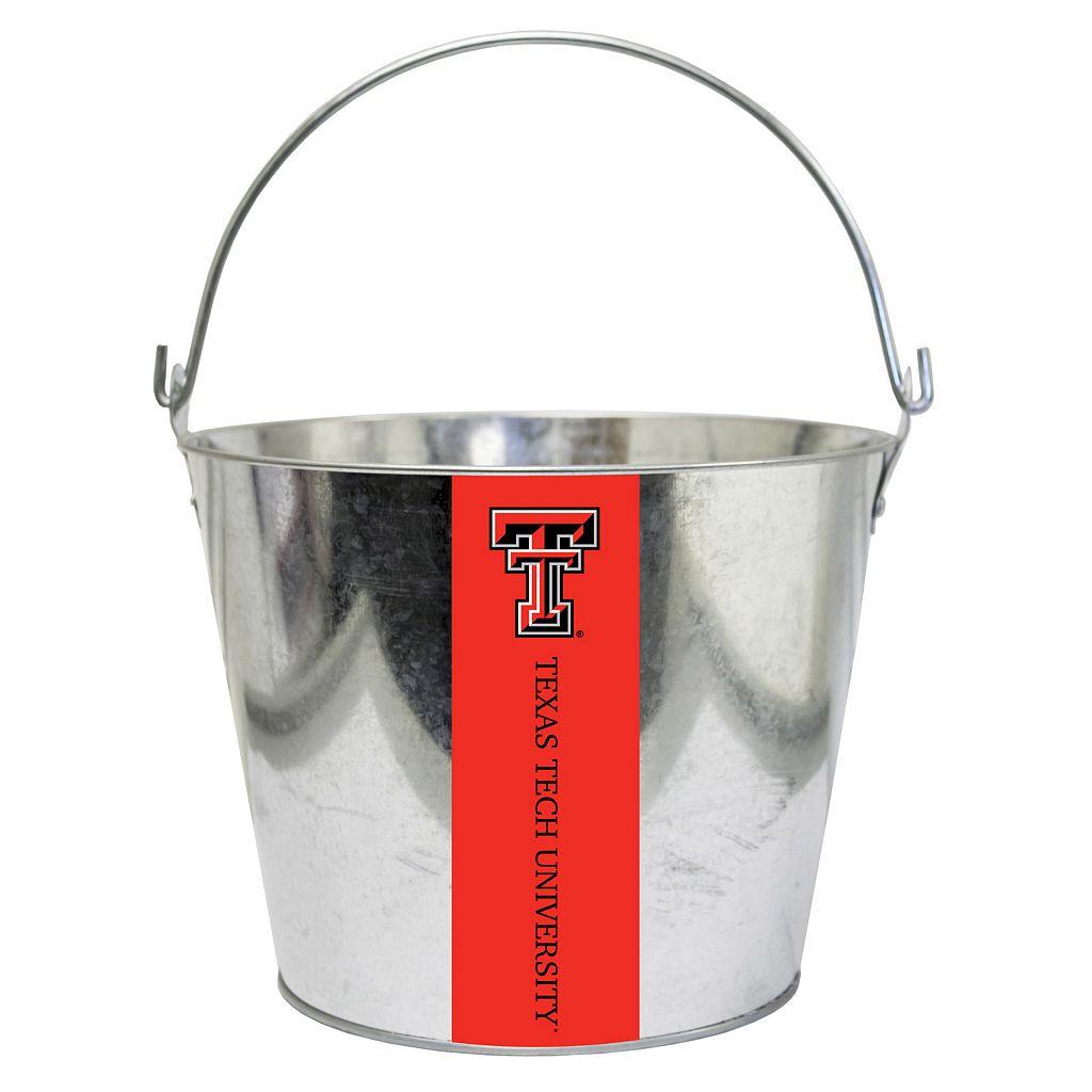 Texas Tech Red Raiders Metal Bucket