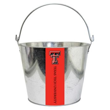 Texas Tech Red Raiders Metal Bucket