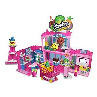 Shopkins Kin'structions Deluxe Shopville Town Center Shopping Pack