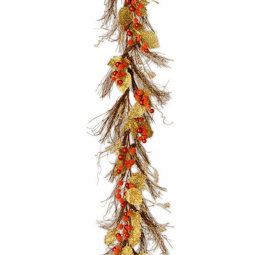 National Tree Company 6 ft. Artificial Berry & Leaf Vine Garland