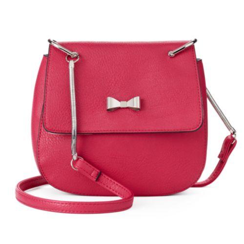 Candie's® Sabrina Crossbody Saddle Bag