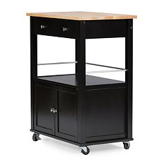 Baxton Studio Denton Kitchen Cart by