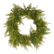National Tree Company 22' Garden Accents Artificial Boston Fern Wreath