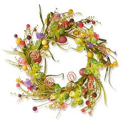 National Tree Company 24' Garden Accents Easter Wreath