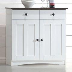Baxton Studio Lauren Buffet Kitchen Cabinet by