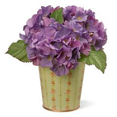 National Tree Company 11' Garden Accents Artificial Hydrangea Arrangement