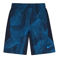 Boys 4-7 Nike Dri-FIT Abstract Swirl Performance Shorts
