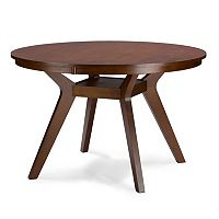 Baxton Studio Montreal Round Dining Table