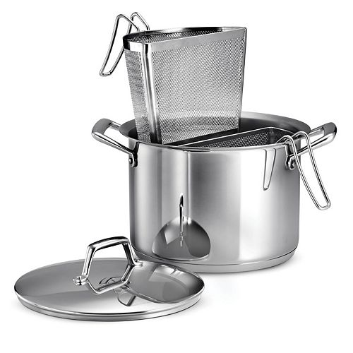 Tramontina Gourmet Prima Tri-Ply Stainless Steel 3-pc. Pasta Cookware Set