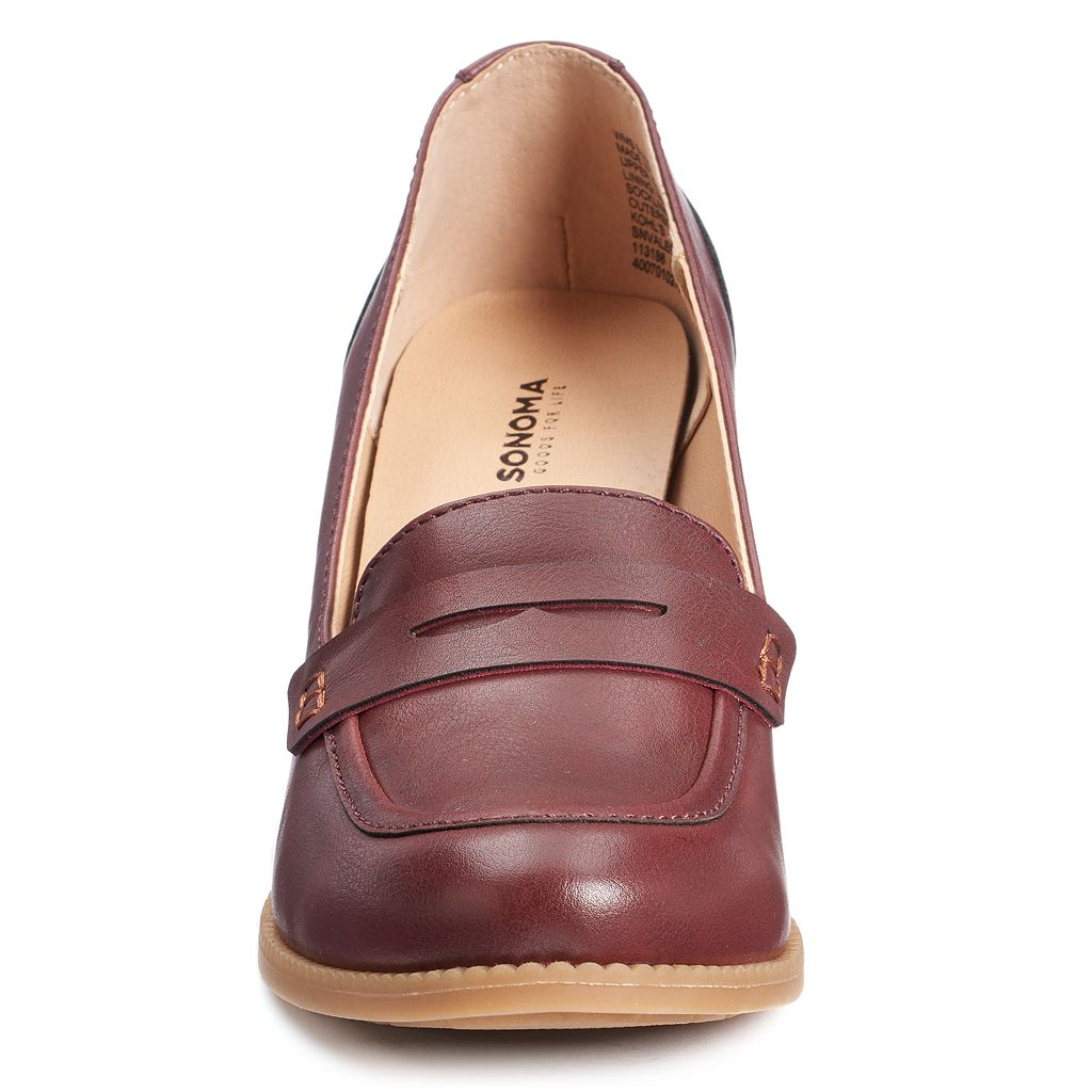 SONOMA Goods for Life™ Women's High Heel Penny Loafers