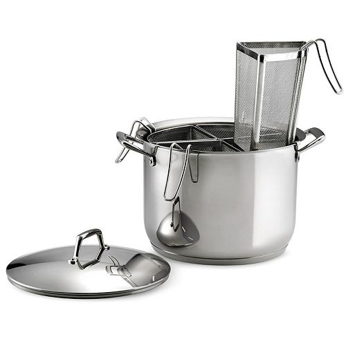 Tramontina Gourmet Prima Tri-Ply Stainless Steel 5-pc. Pasta Cookware Set