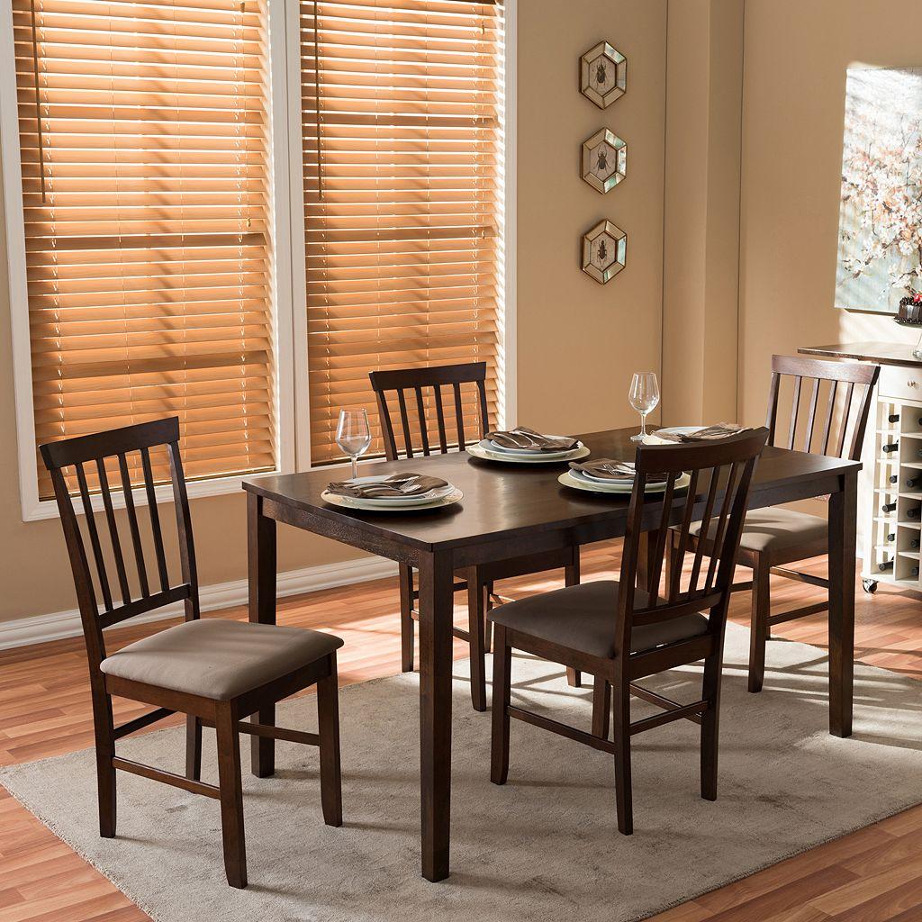 Baxton Studio Tiffany Modern Dining 5-piece Set