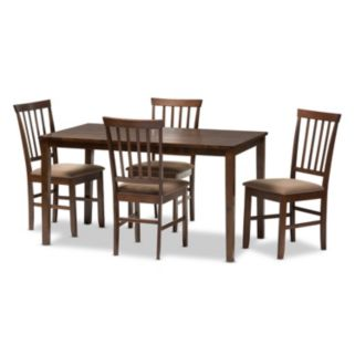Baxton Studio Tiffany Modern Dining 5-piece Set