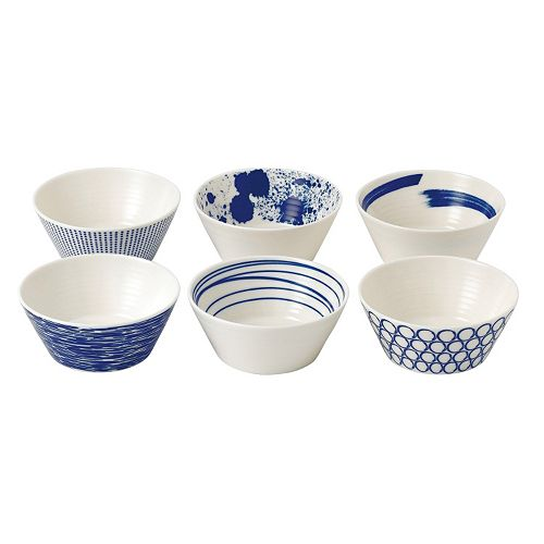 Royal Doulton Pacific 6-pc. Tapas Bowl Set