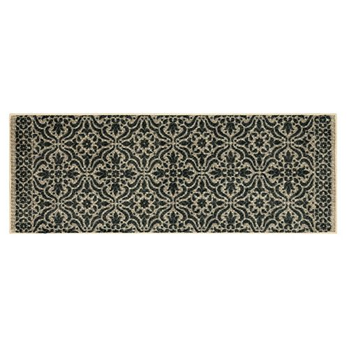 Mohawk® Home Refinements Tile Blue Medallion Rug