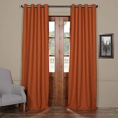 EFF Blackout 1-Panel Bellino Grommet Window Curtain