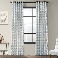 EFF 1-Panel Nairobi Lined Window Curtain