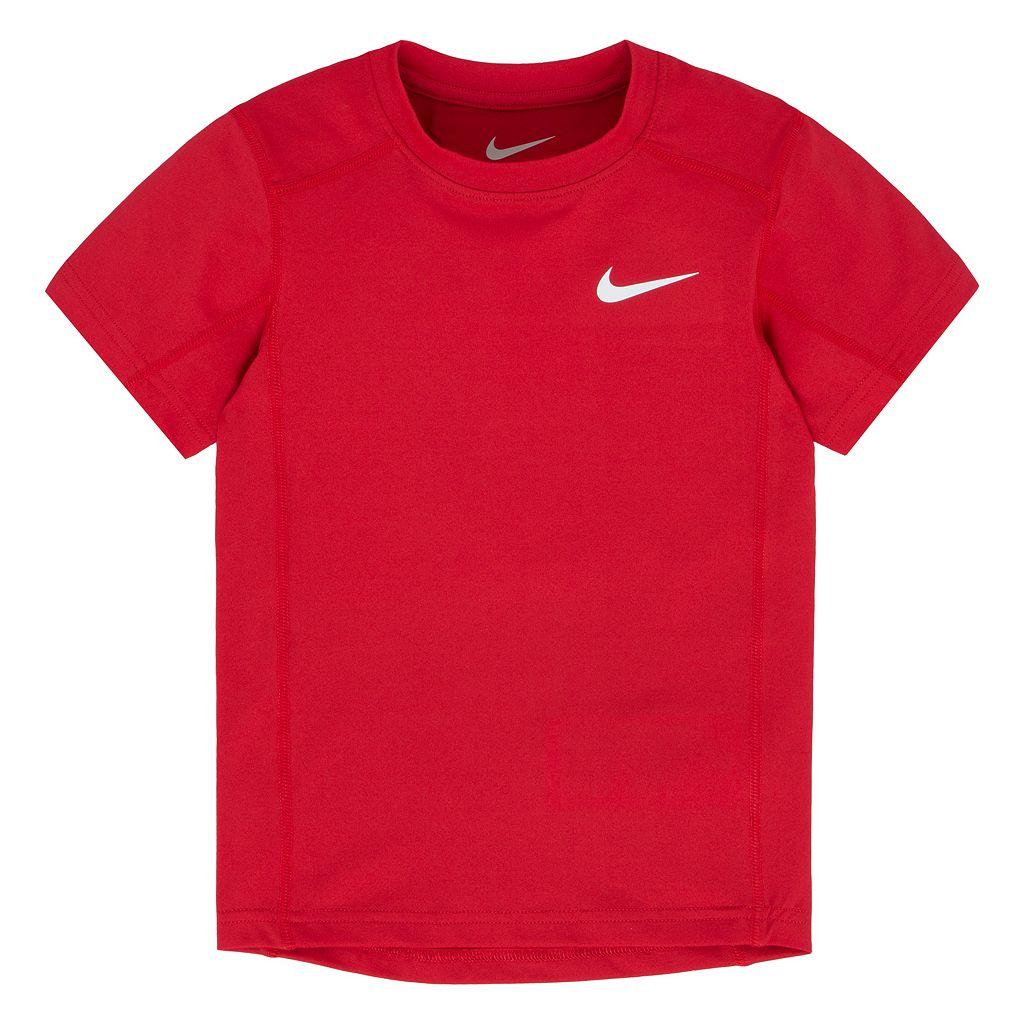 Boys 4-7 Nike Dri-FIT Short Sleeve Base Layer Tee