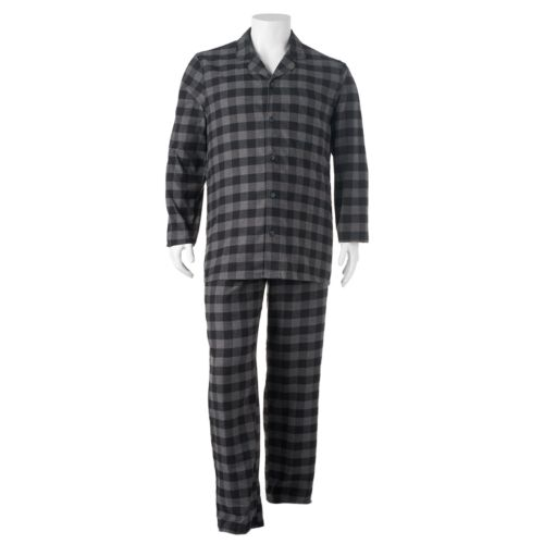 Big & Tall SONOMA Goods for Life™ Flannel Pajama Set