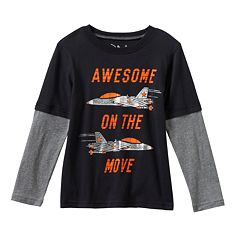 Boys 4-7x Jumping Beans® Graphic Skater Tee