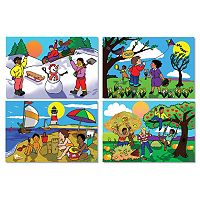 Melissa & Doug Four Seasons Floor Puzzle