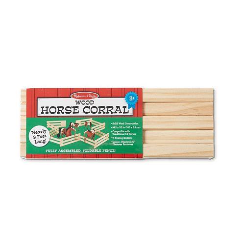 Melissa & Doug Wooden Horse Corral