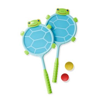 Melissa & Doug Dilly Dally Turtle Racquet & Ball Set