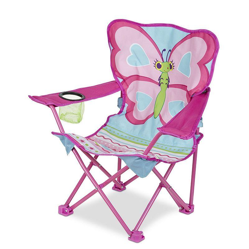 Outdoor Melissa Amp Doug Cutie Pie Butterfly Camp Chair