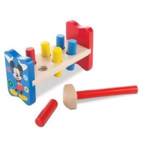 Disney's Mickey Mouse Clubhouse Wooden Pound-a-Peg by Melissa & Doug