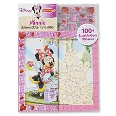 Disney's Minnie Mouse Deluxe Sticker by Number by Melissa & Doug