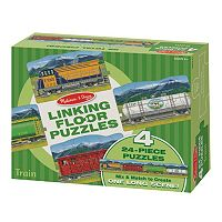 Melissa & Doug 96-pc. Trains Linking Floor Puzzle