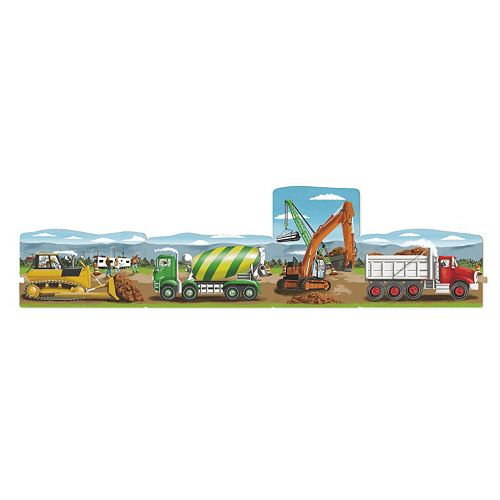 Melissa & Doug 96-pc. Construction Linking Floor Puzzle