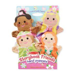 Melissa & Doug Storybook Friends Hand Puppets