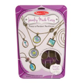Melissa & Doug Jewelry Made Easy Press-a-Pendant Necklaces